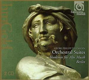 TELEMANN-ORCHESTRAL SUITES 2CD *NEW*