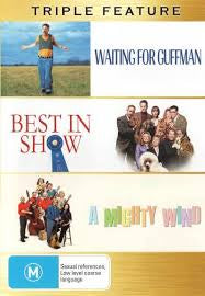 WAITING FOR GUFFMAN +BEST IN SHOW + A MIGHTY WIND 3DVD VG+