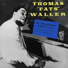 WALLER FATS-NEW YORK RECORDINGS MARCH 11TH 1935 VGPLUS  G UK