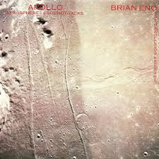 ENO BRIAN-APOLLO ATMOSPHERES & SOUNDTRACKS LP VG+ COVER EX