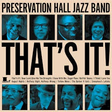 PRESERVATION HALL JAZZ BAND-THAT'S IT LP EX COVER EX