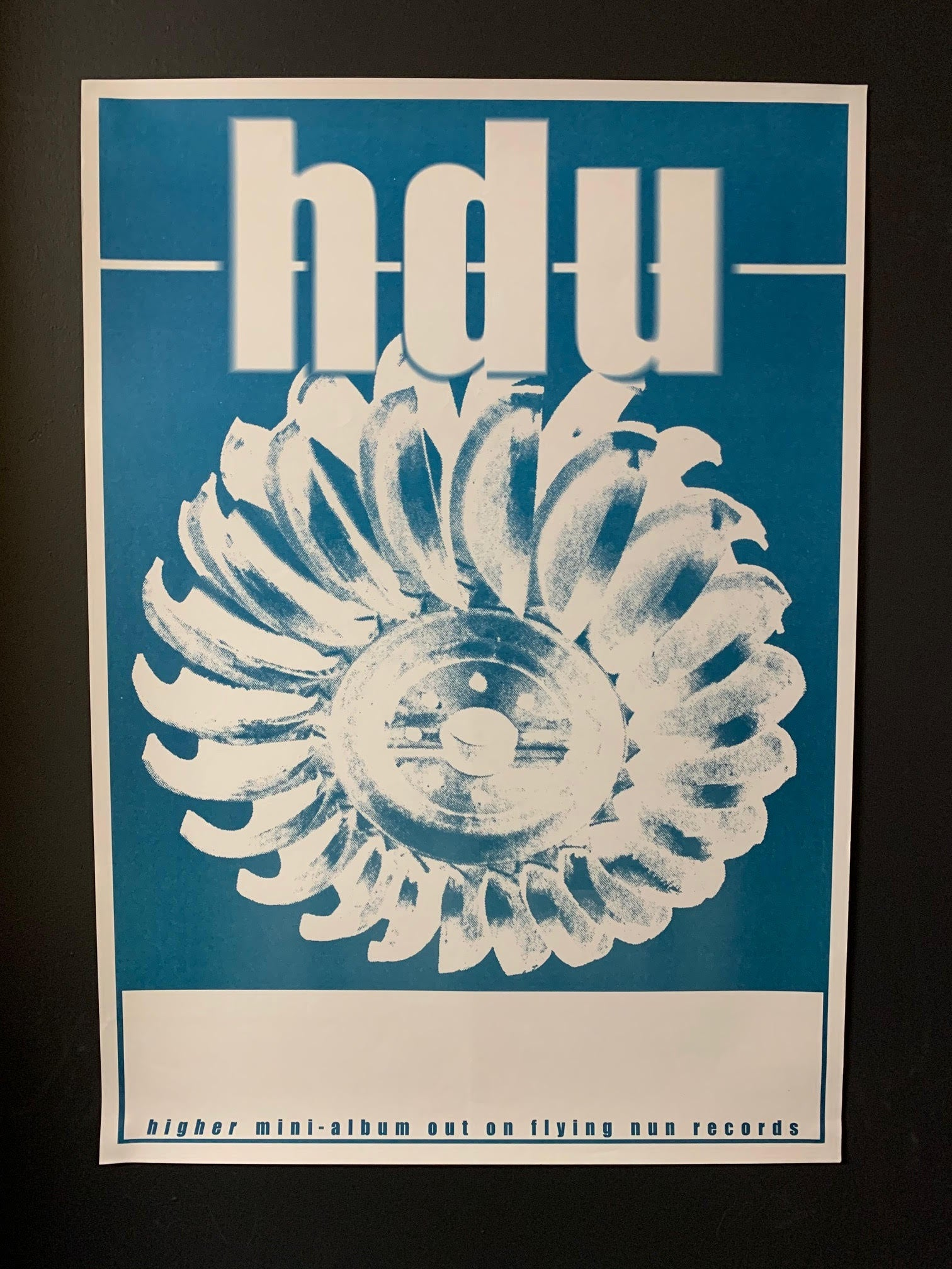 HDU-HIGHER ALBUM ORIGINAL TOUR POSTER