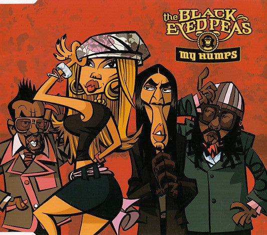 BLACK EYED PEAS THE-MY HUMPS CD SINGLE VG