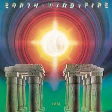 EARTH WIND & FIRE-I AM LP EX COVER VG+