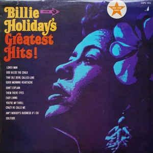 HOLIDAY BILLIE-GREATEST HITS! LP VGH+ COVER VG