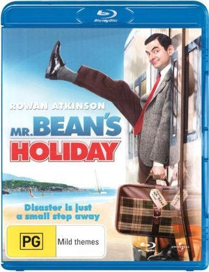 MR BEAN'S HOLIDAY BLURAY VG+