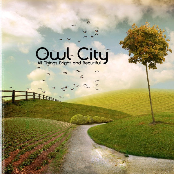 OWL CITY-ALL THINGS BRIGHT AND BEAUTIFUL CD VG
