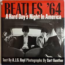 BEATLES'64 A HARD DAY'S NIGHT IN AMERICA-BOOK VG