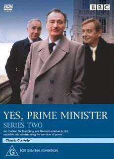 YES PRIME MINISTER SERIES TWO 2DVD VG