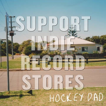 "HOCKEY DAD-DREAMIN' GLOW IN THE DARK VINYL 12"" EP *NEW*"