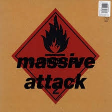 MASSIVE ATTACK-BLUE LINES LP VG COVER EX