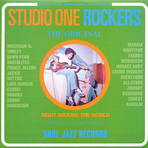 STUDIO ONE ROCKERS-VARIOUS ARTISTS CD VG