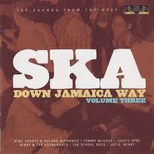 SKA DOWN JAMAICA WAY VOLUME THREE-VARIOUS ARTISTS CD G