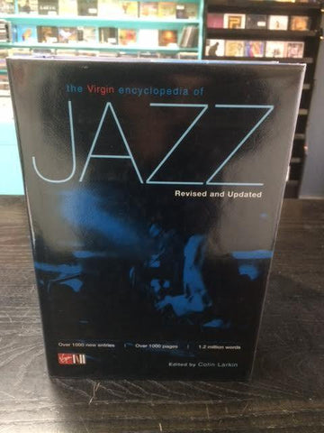 THE VIRGIN ENCYCLOPEDIA OF JAZZ BOOK VG