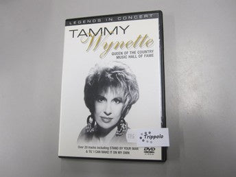 WYNETTE TAMMY-LEGENDS IN CONCERT DVD VG+