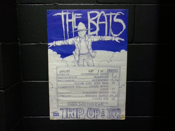 BATS THE-TRIP UP ORIGINAL TOUR POSTER