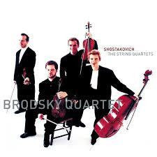 SHOSTAKOVICH-STRING QUARTETS BRODSKY QUARTET 6CD *NEW*