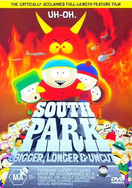 SOUTH PARK BIGGER, LONGER & UNCUT DVD VG