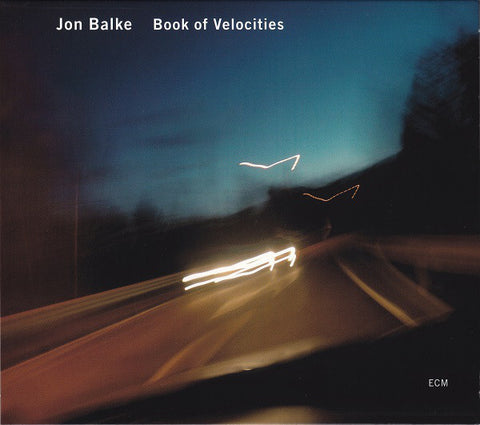 BALKE JON-BOOK OF VELOCITIES CD VG+