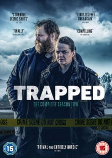 TRAPPED SEASON TWO REGION TWO 3DVD VG