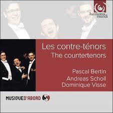 BERTIN/ SCHOLL/ VISSE-LES CONTRE-TENORS CD *NEW*
