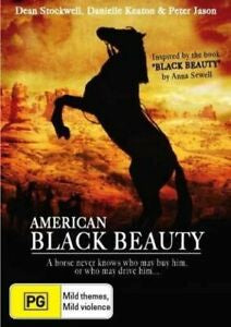 AMERICAN BLACK BEAUTY DVD VG
