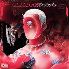 CHASE ATLANTIC-BEAUTY IN DEATH RED WITH BLACK SMOKE VINYL LP *NEW*