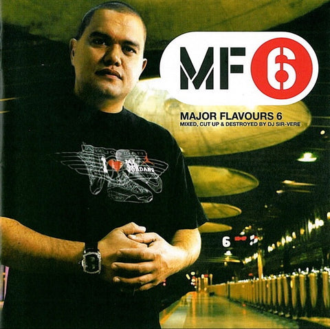 MAJOR FLAVOURS 6-VARIOUS ARTISTS CD VG