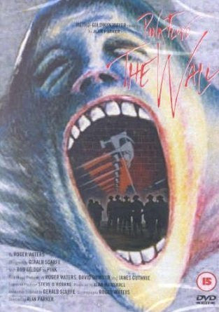PINK FLOYD-THE WALL DVD VG