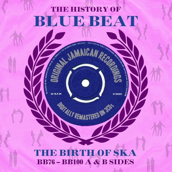 HISTORY OF BLUE BEAT BB76-BB100-VARIOUS ARTISTS 2LP *NEW*