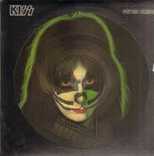 CRISS PETER-PETER CRISS PICTURE DISC LP VG COVER VG