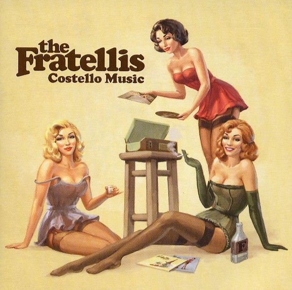 FRATELLIS THE-COSTELLO MUSIC CD VG
