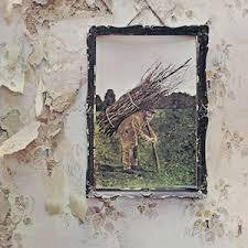 LED ZEPPELIN-IV LP VG COVER VG+