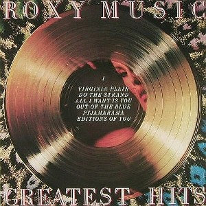 ROXY MUSIC-GREATEST HITS LP VG+ COVER VG+