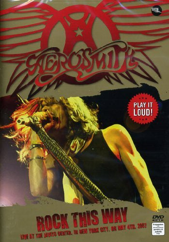 AEROSMITH-ROCK THIS WAY DVD VG+