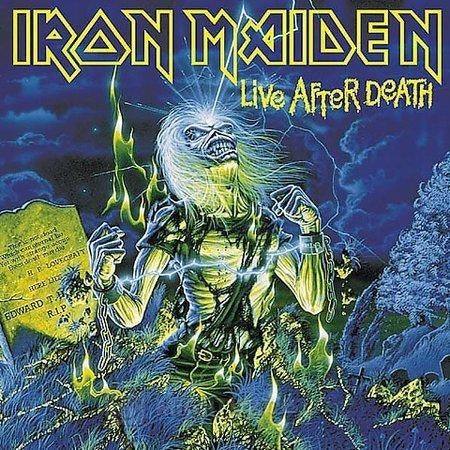 IRON MAIDEN-LIVE AFTER DEATH CD VG
