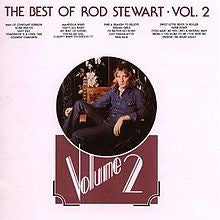 STEWART ROD-THE BEST OF ROD STEWART VOL.2 2LP VG+ COVER VG+