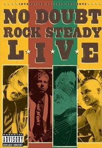 NO DOUBT-ROCK STEADY LIVE DVD VG