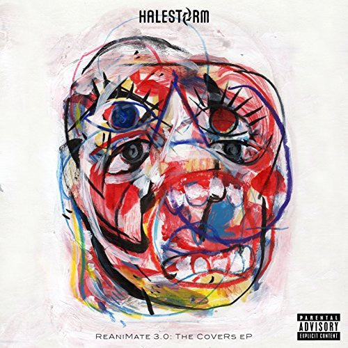 HALESTORM-REANIMATE 3.0 THE COVERS EP CD VG