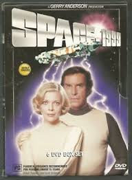 SPACE 1999 VOLUMES 1-6 6DVD VG