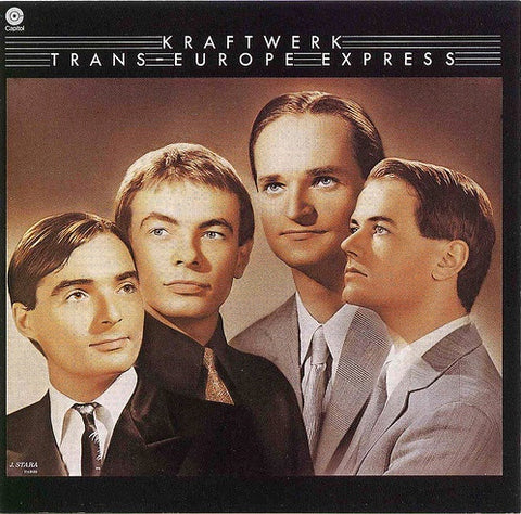 KRAFTWERK-TRANS-EUROPE EXPRESS CD VG