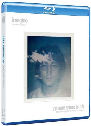 LENNON JOHN & YOKO ONO-IMAGINE GIMME SOME TRUTH BLU RAY *NEW*