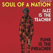 SOUL OF A NATION JAZZ IS THE TEACHER-VARIOUS ARTISTS CD *NEW*