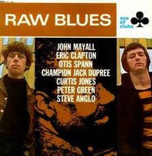 RAW BLUES-VARIOUS ARTISTS LP VG+ COVER VG+