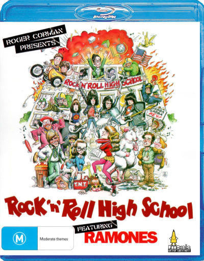 ROCK N ROLL HIGH SCHOOL BLURAY NM