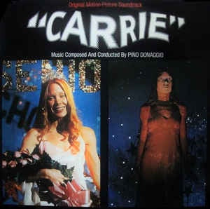 CARRIE OST LP VG COVER VG+