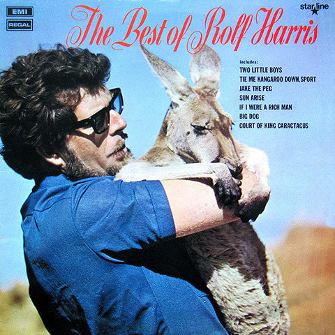 HARRIS ROLF-BEST OF LP G COVER VGPLUS