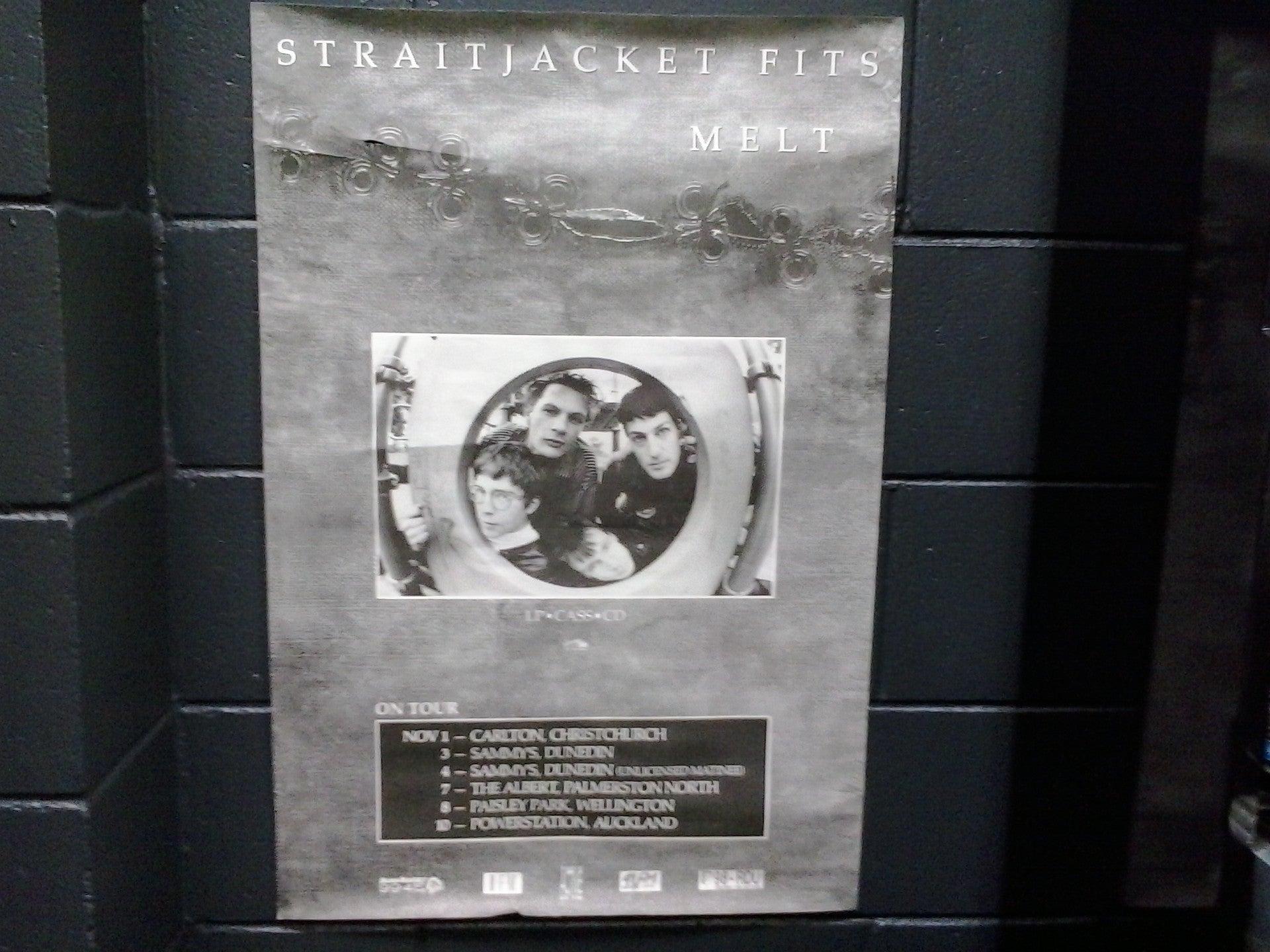 STRAITJACKET FITS-MELT TOUR ORIGINAL GIG POSTER