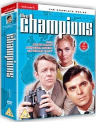 CHAMPIONS THE COMPLETE SERIES REGION 2  9DVD VG