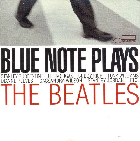 BLUE NOTE PLAYS THE BEATLES-VARIOUS ARTISTS  CD VG+